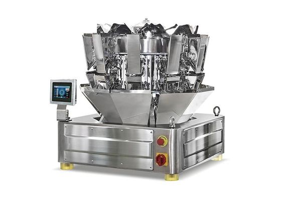 10 Head Peanut Multihead Weigher Packing Machine