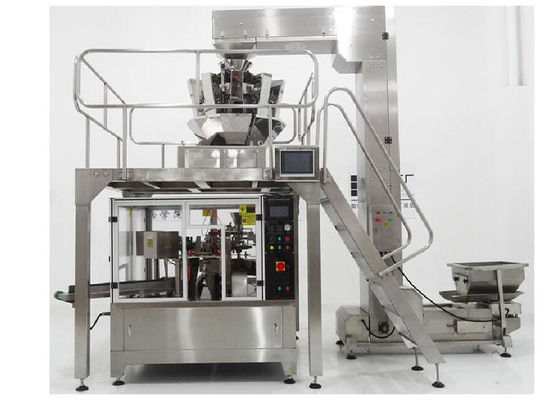Rotary Chips Biscuit Premade Pouch Packing Machine